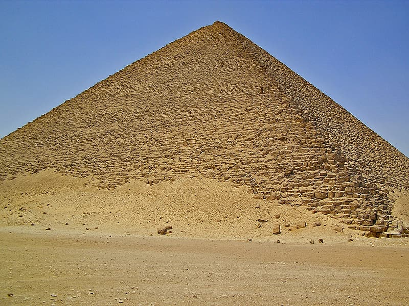 The Great Pyramid of Giza during daytime