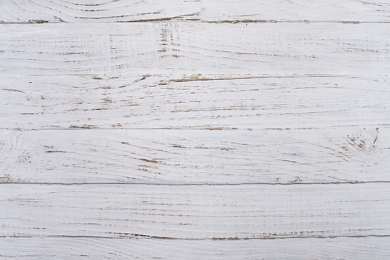 Close up shot of white wood parquet flooring