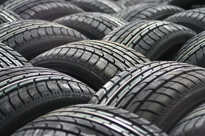 Vehicle tire lot