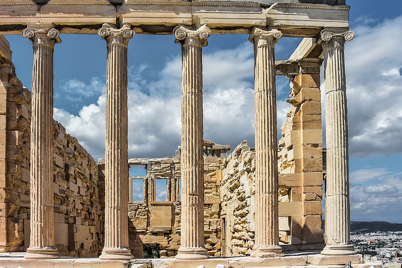 Parthenon, Athens Greece at daytime