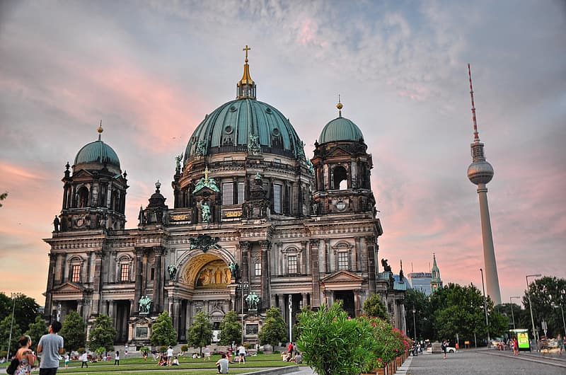 Berlin Cathedral, Germany during daytime
