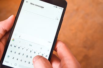 Writing Text Message
