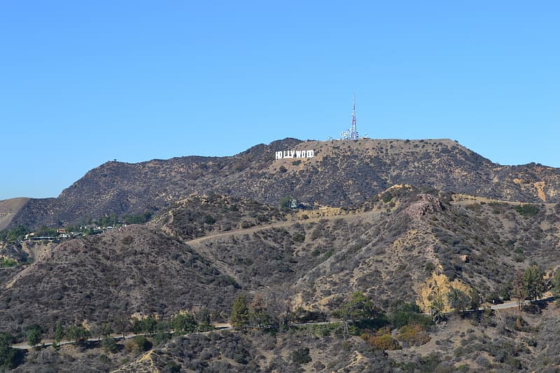Hollywood Sign in California at daytime