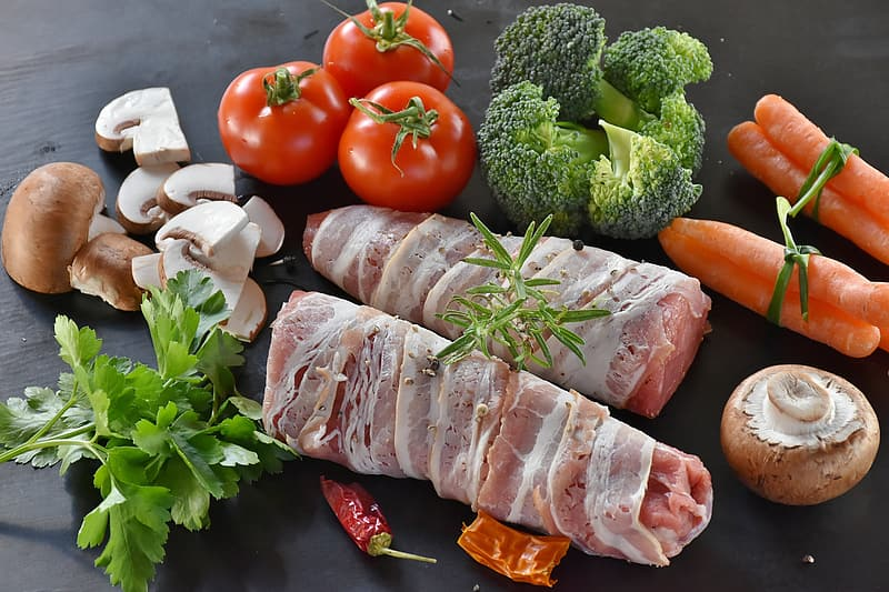 Photo of bacon wrapped meat