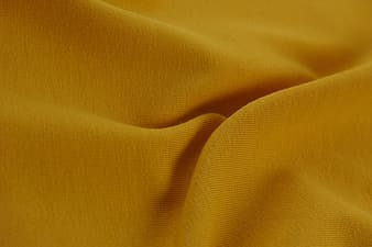 Yellow textile in close up image
