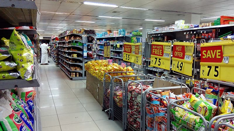 Grocery section