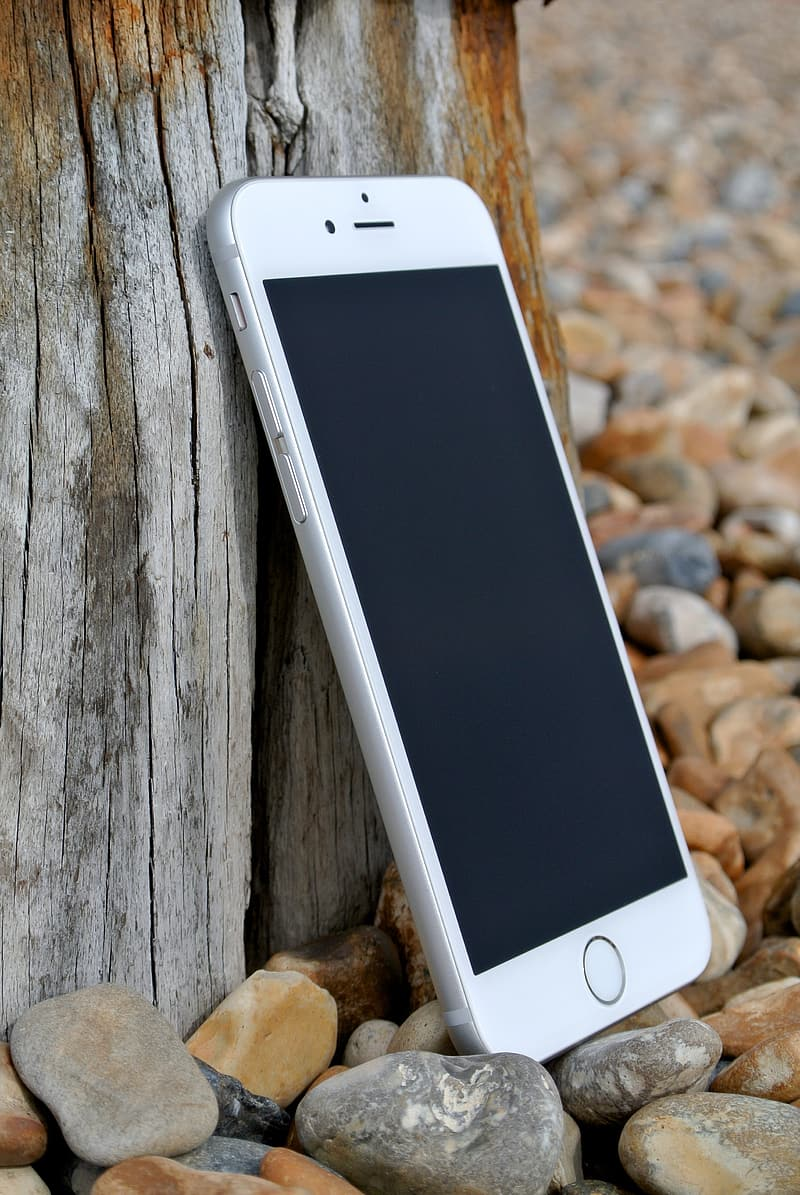 Silver iPhone 6 Plus