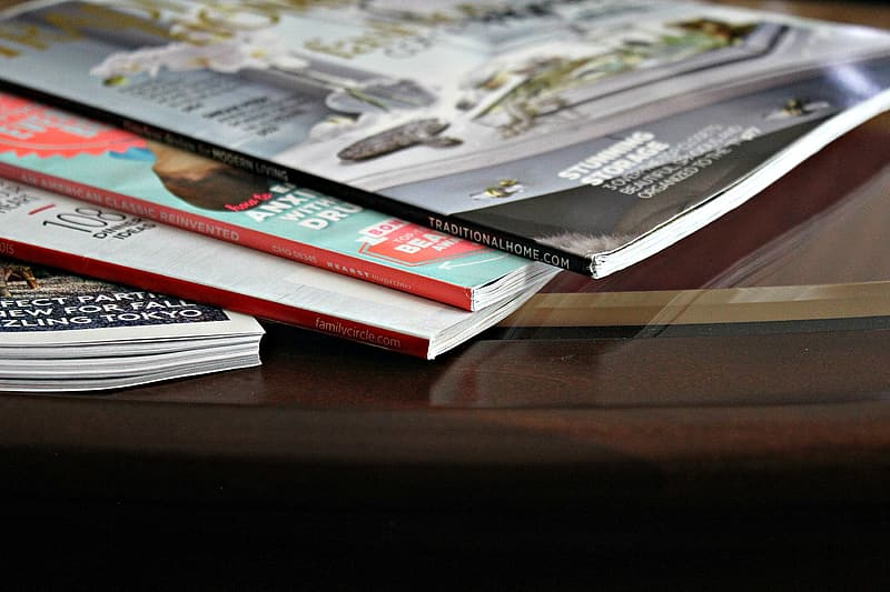 Magazines, Reading Material