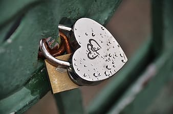 Two padlocks together
