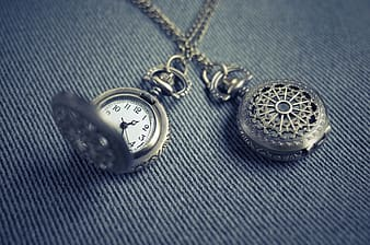 Pocket watch reads at 1:25
