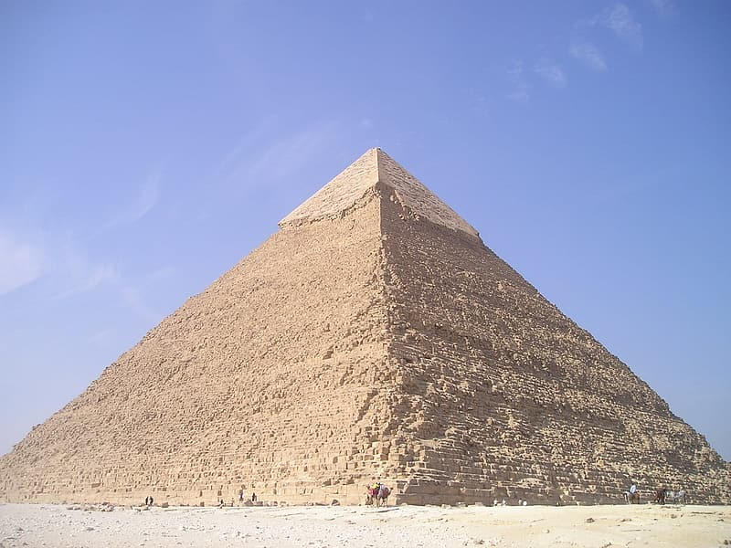 Brown pyramid