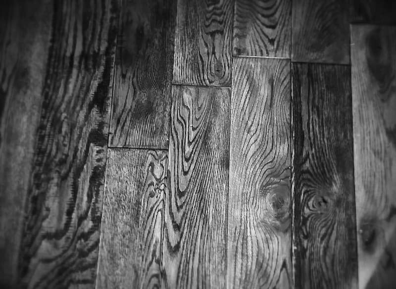 Grayscale photography of parquet floor