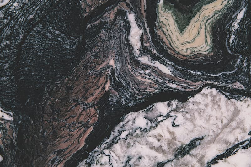 Closeup abstract shot of marble texture