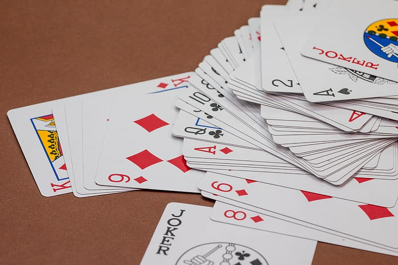 Playing card lot