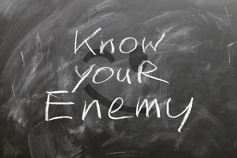 Know your enemy text