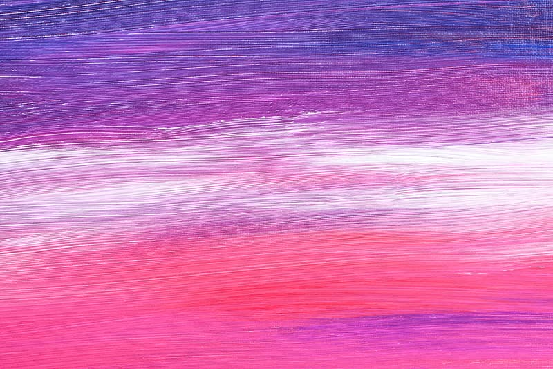Purple, white, and pink abstract art illustration