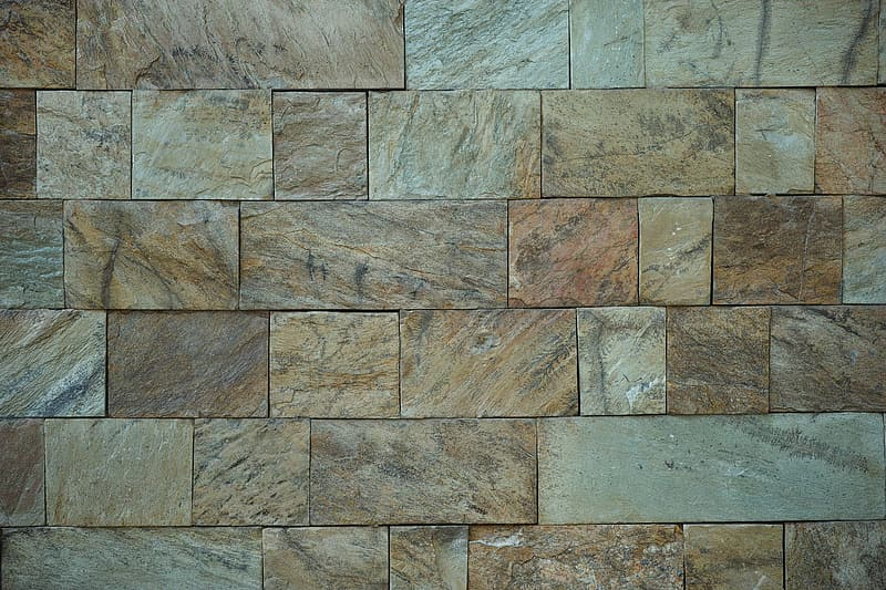 Brown and beige tiles