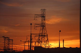 Photography of transmission line