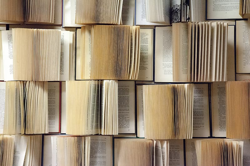 Book pages