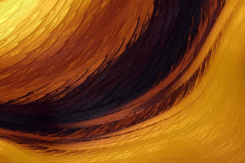 Yellow abstract texture