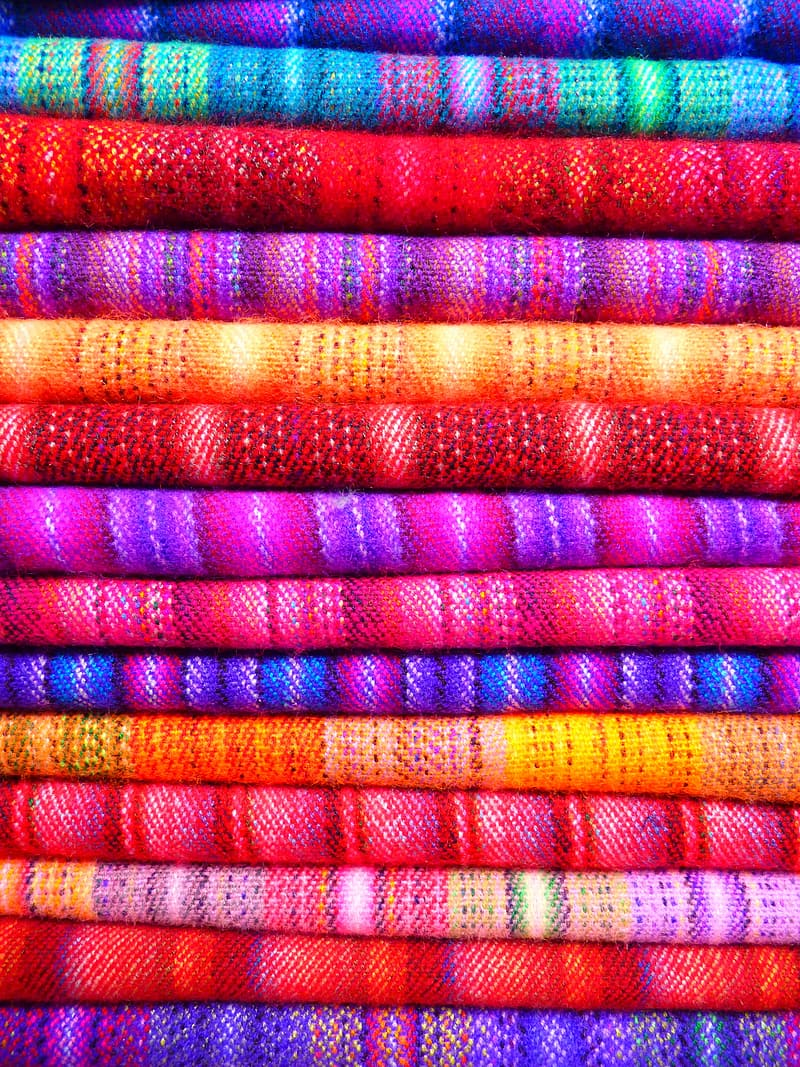 Assorted-color textile