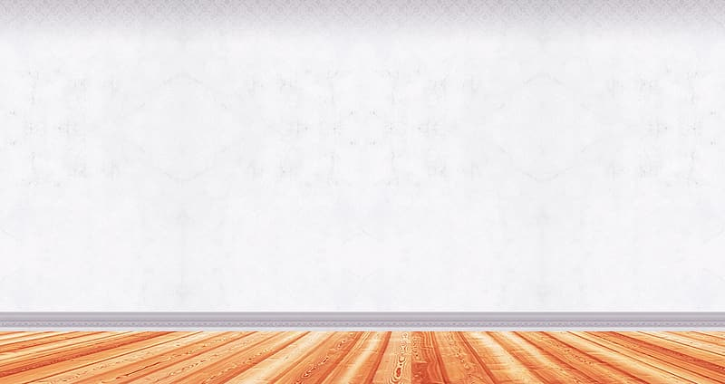 White wall paint near brown wooden floor