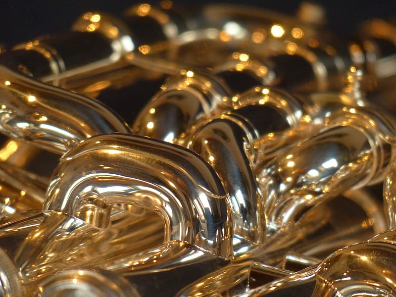 Gold and silver musical instrument