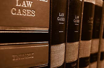 Law cases book collection