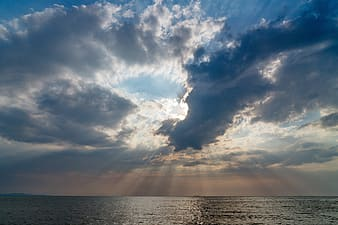 Photo of crepuscular rays