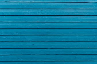 Blue wooden surface