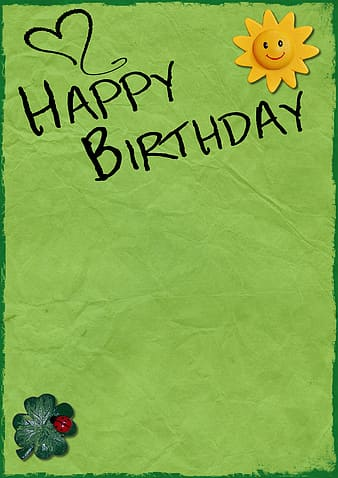 Photo of Happy Birthday text