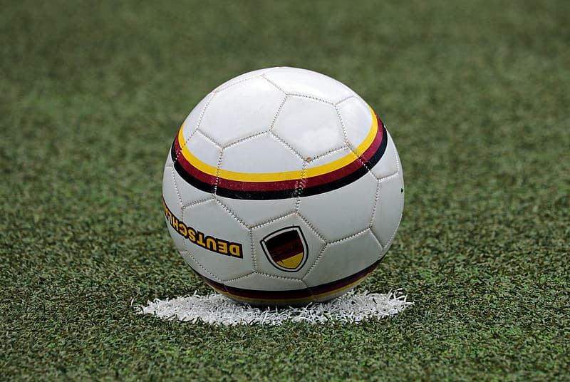 Shallow focus photography of white soccerball