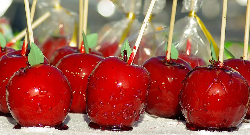 Candy apples lot
