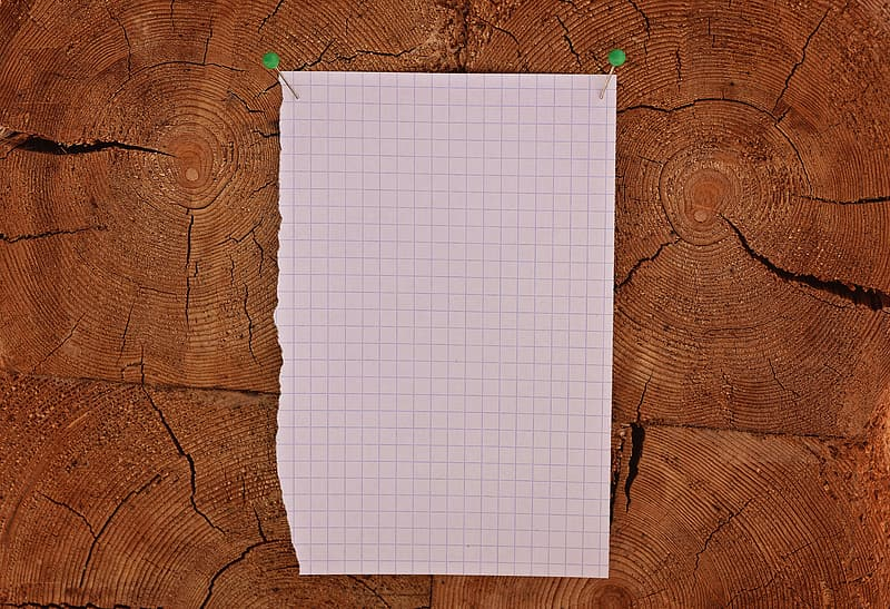 Black and white blank grid paper