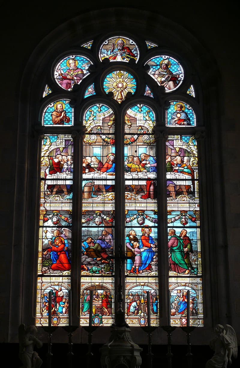 Church, Stained Glass Window