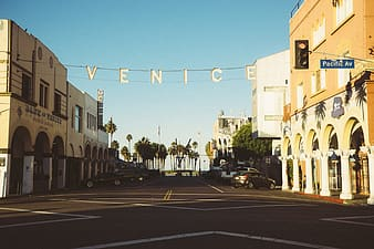 Photo of Venice Pacific Av road
