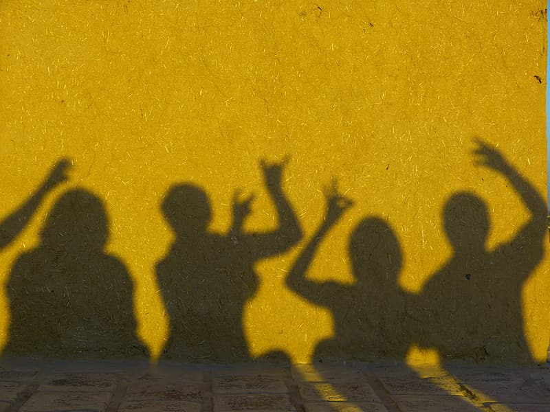 Persons silhouette