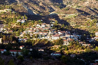Village on top of the mountain