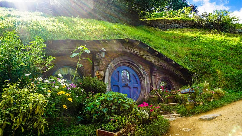 Bilbo's house from The Lord of the Rings