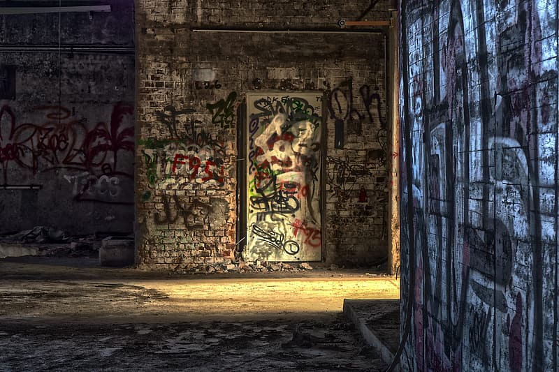 Untitled, lost places, factory, old factory, pforphoto, leave, lapsed, decay, old, industrial building