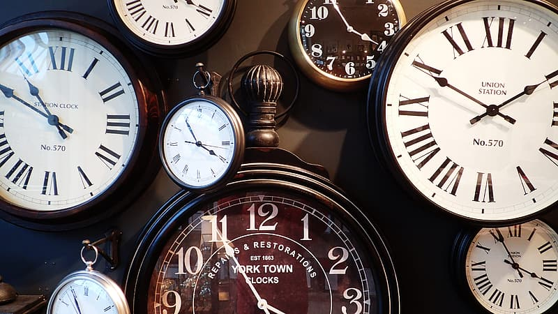 Assorted pocket watches