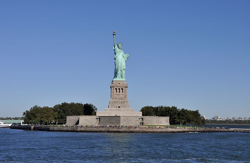 Statue of Liberty, Ellis Island, New York