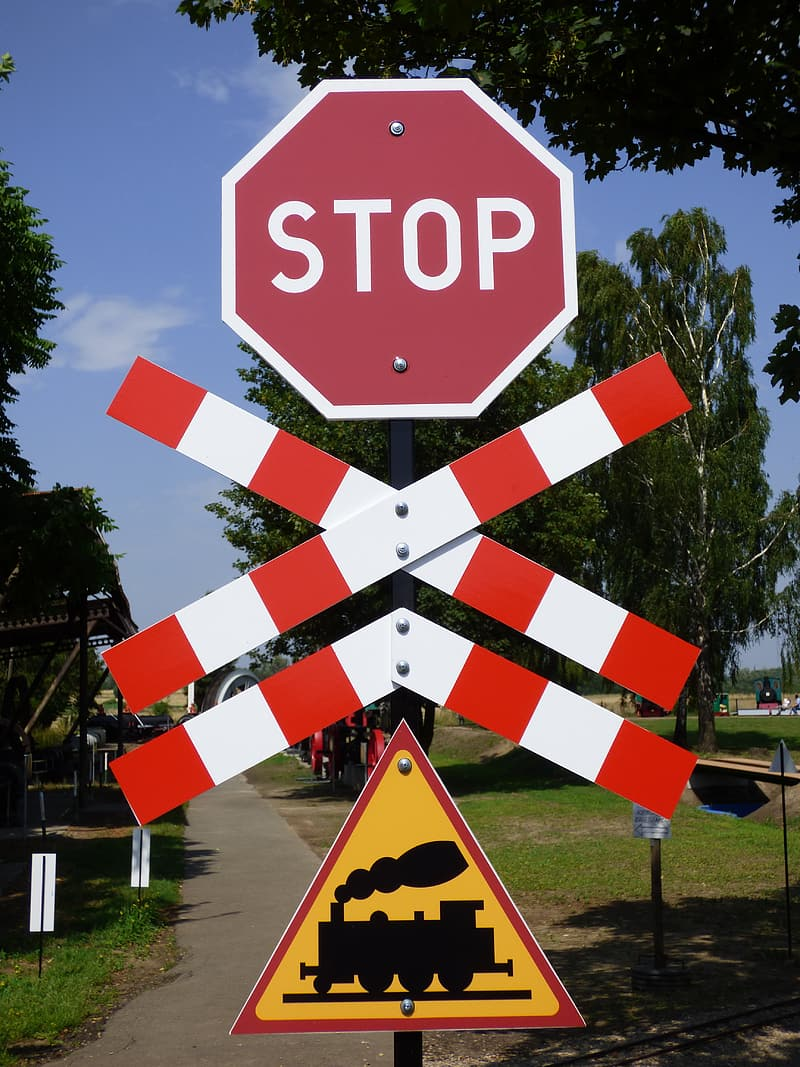Stop signage