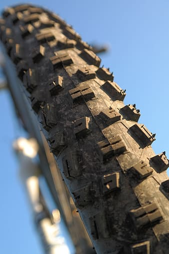 Bicycle tire close-up photography