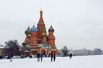 St. Basil's Basilica, Moscow Russia