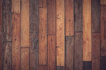 Brown and black wooden parquet