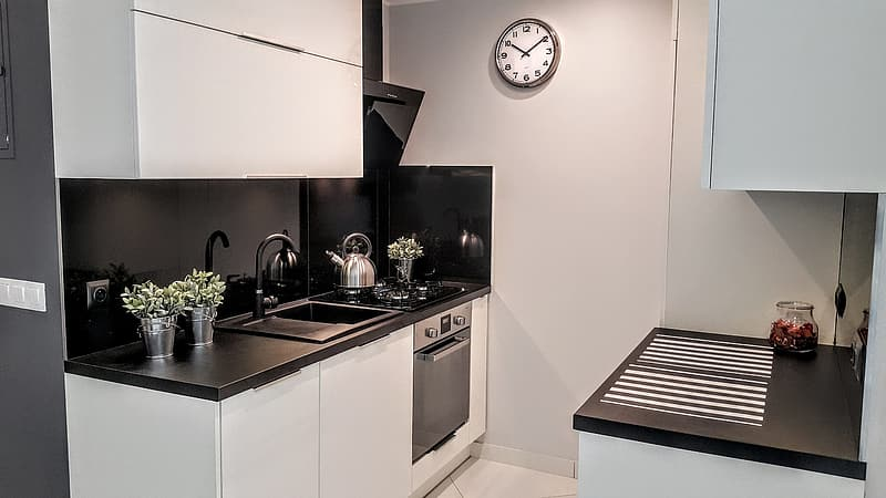 Kitchen, The Interior Of The