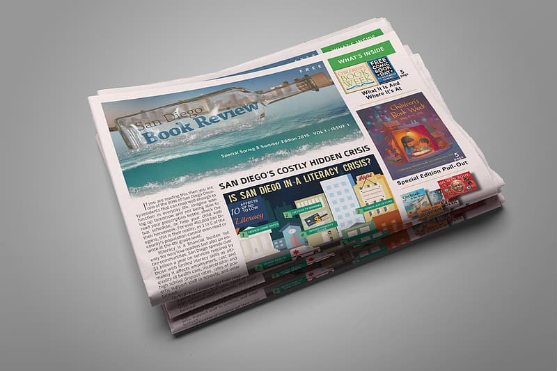 Book review news paper