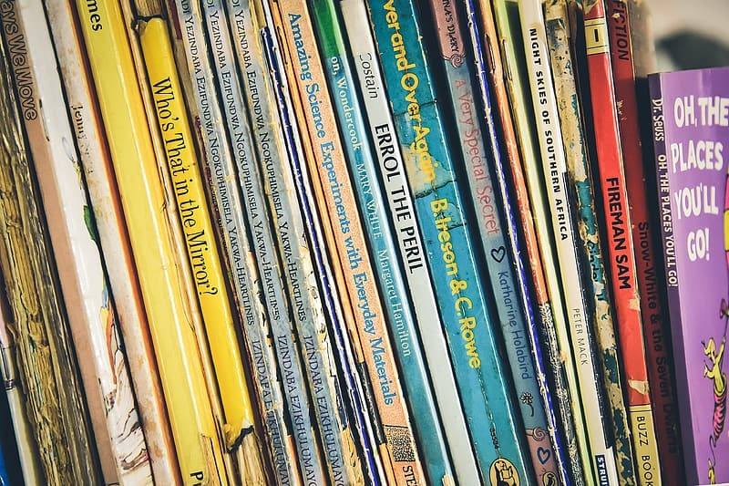Assorted-title book collection