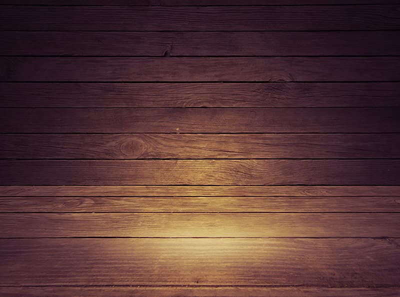 Brown wooden floor with light